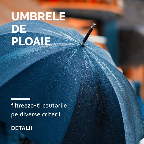 Umbrele promotionale personalizate
