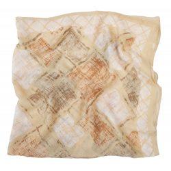 Detty ladies scarf, 90×90, brown