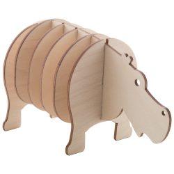 Noah coaster set, hippo