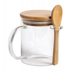 Kipal glass mug