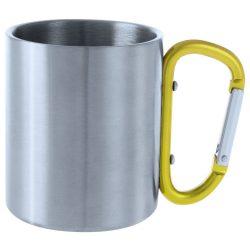 Bastic metal mug galben