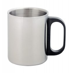 Gilbert double metal mug