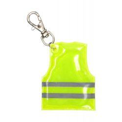 Pit Lane mini reflective vest keyring