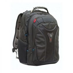 "Carbon 17"" laptop backpack"