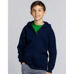 Heavy Blend Youth Full Zip Hooded Sweat