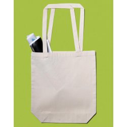 Baby Canvas Cotton Bag LH with Gusset
