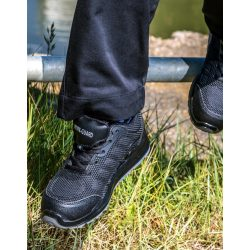 All Black Safety Trainer - size 3