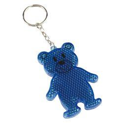 Reflective teddy key ring TEDDY