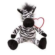 Plush zebra LORENZO