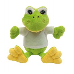 Plush frog FRIEDA