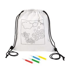 Backpack for colouring COLOURFUL HOBBY