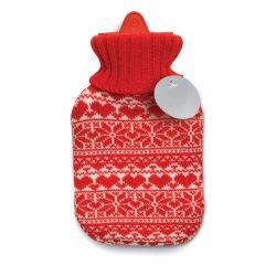 Sticla pentru apa fierbinte, Polyester, red