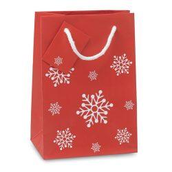 Punga mica de cadou, Paper, red