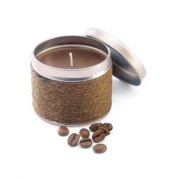 Lumanare parfumata in cutie, Wax, brown
