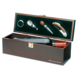 Set accesorii vin in cutie, Wood, wood