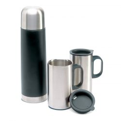 Termos din otel inoxidabil, Stainless steel, black