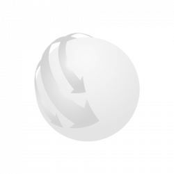 Umbrela golf cu maner din lemn, Polyester, white