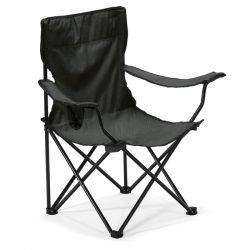 Scaun plaja sau camping, Metal, black