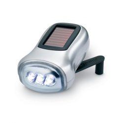 Lanterna dynam-electrica, Plastic, matt silver