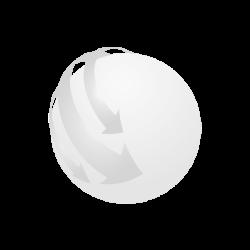 Pix plastic buton, albastra, Plastic, black