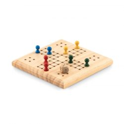 Joc Ludo, Item with multi-materials, wood
