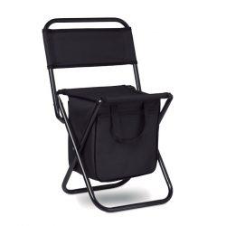Scaun/cooler pliabil, Polyester, black