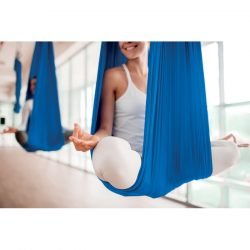 Hamac yoga / Aerial yoga, Item with multi-materials, royal blue