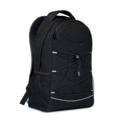 Rucsac 600D RPET, Item with multi-materials, black