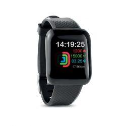 Ceas inteligent Wireless, Item with multi-materials, black