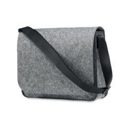 Geanta laptop fetru RPET, Fleece, grey
