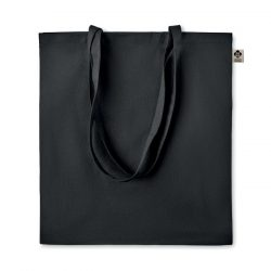 Sacosa din bumbac organic, Organic cotton, black