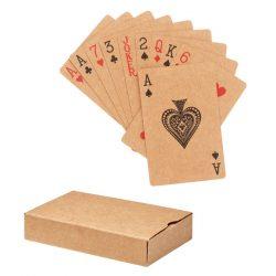 Carti joc din hartie reciclata, Paper, beige