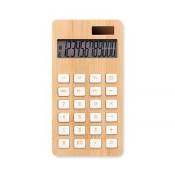 Calculator bambus cu 12 cifre, Item with multi-materials, wood