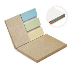Set Bloc Memo cu seminte iarba, Paper, white