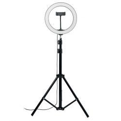 Lampa Circulara LED, 26 cm, Item with multi-materials, black