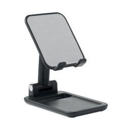 Suport pliabil pentru telefon, Item with multi-materials, black