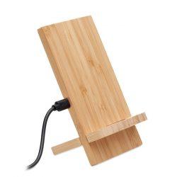 Suport / incarcator fara fir, Bamboo, wood