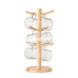Suport pentru set de pahare, Item with multi-materials, wood