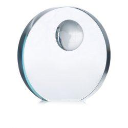 Trofeu din sticla, Glass, transparent