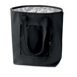 Sacosa cumparaturi pliabila, Polyester, black