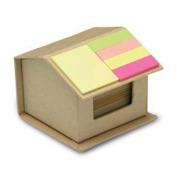 Notite reciclate colorate, Paper, beige