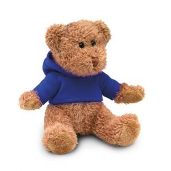 Ursulet din plus cu tricou, Plush, blue