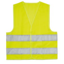 Vesta reflectorizanta copii, Polyester, yellow