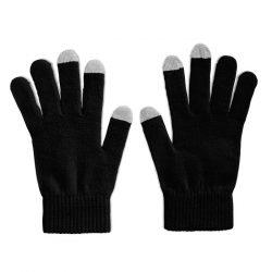 Manusi pentru smartphone, Polyester, black