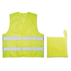 Vesta din poliester, Polyester, yellow
