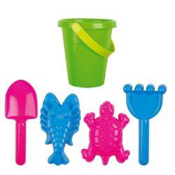 Set de plaja pentru copii, Plastic, multicolour
