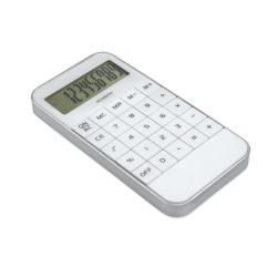 Calculator, Plastic, white