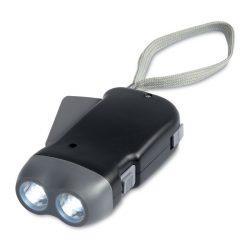 Lanterna cu leduri, Plastic, black