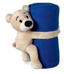 Patura polar cu ursulet, Item with multi-materials, blue