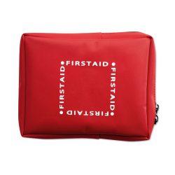 Trusa de prim ajutor, Item with multi-materials, red